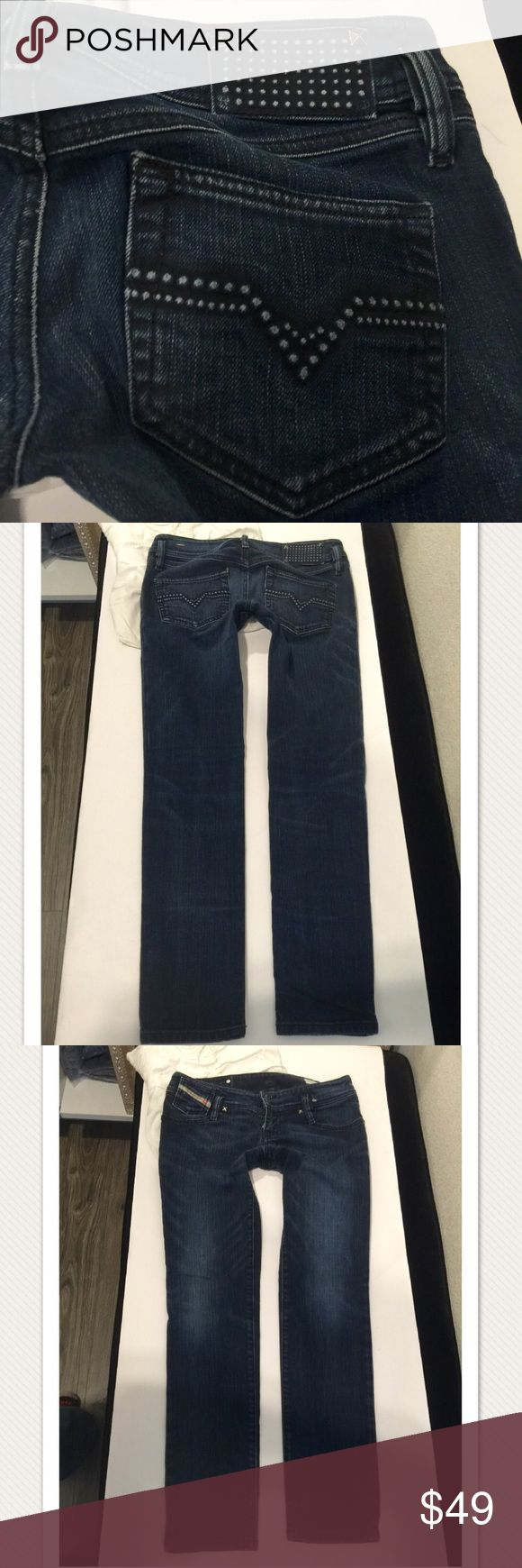 Diesel jeans MATIC size 27 X 30 cute!!💜❤️🌺 Live these size 27 inseam 30 excellent condition stretch deisel Jeans Skinny