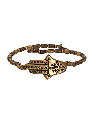 Alex and Ani Vintage 66 Hamsa Wrap Bangle | Bloomingdale's