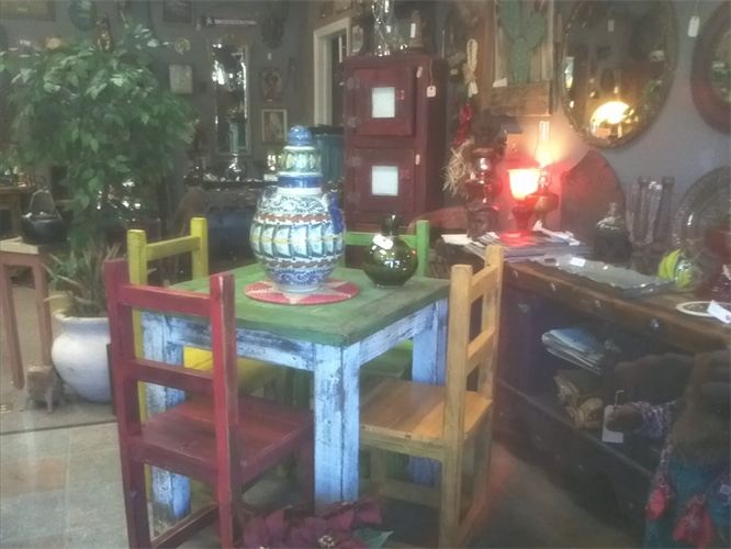 Mexican Style Dining Room