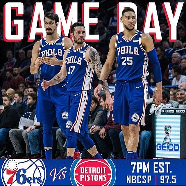 It feels like it's been eons since the last Sixers game. Luckily they play tonight against the partially-injured Andre Drummond. Drummond and Joel Embiid have a bit of a feud going on but both will get the opportunity to play. Embiid was not even on the Sixers injury report great news for the whole organization. We are currently 0.5 games out of the eighth seed in the East and a win tonight would put us there. Ben Simmons recorded his first career triple-double against Detroit so maybe he…