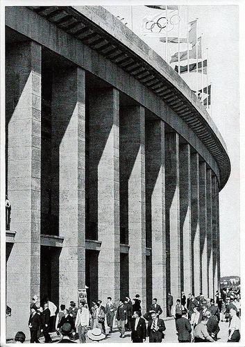 1936 Berlin Olympics Photographs - Sammelwerk Nr. 14, Bild Nr. 197, Gruppe 59, Olympic Stadium.