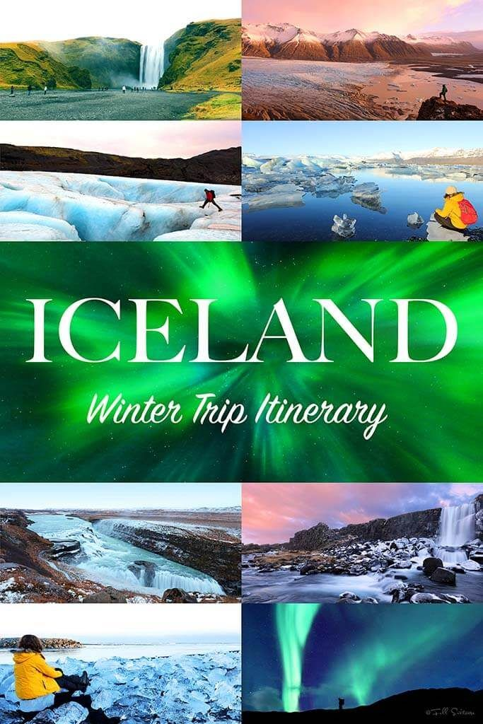 Most complete Iceland trip itinerary for winter months. Discover the best of Southern Iceland in 7 days.