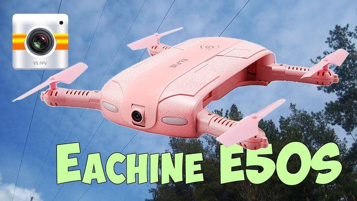 Квадрокоптер с видео камерой и FPV за 40$ - Eachine E50S