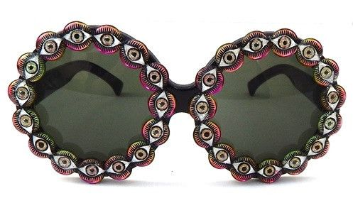 Eye Spy Sunnies: http://shop.nylonmag.com/collections/whats-new/products/eye-spy-sunnies. #NYLONshop