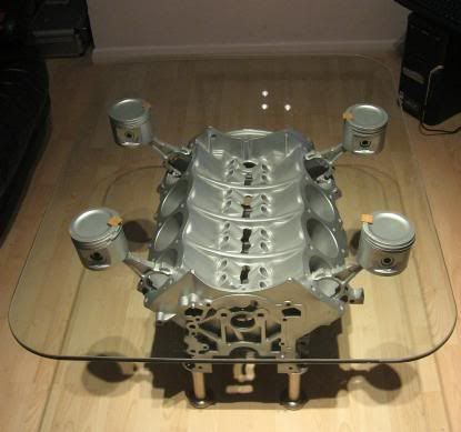 engine block coffee table how things work pinterest engine block coffee and men cave. Black Bedroom Furniture Sets. Home Design Ideas