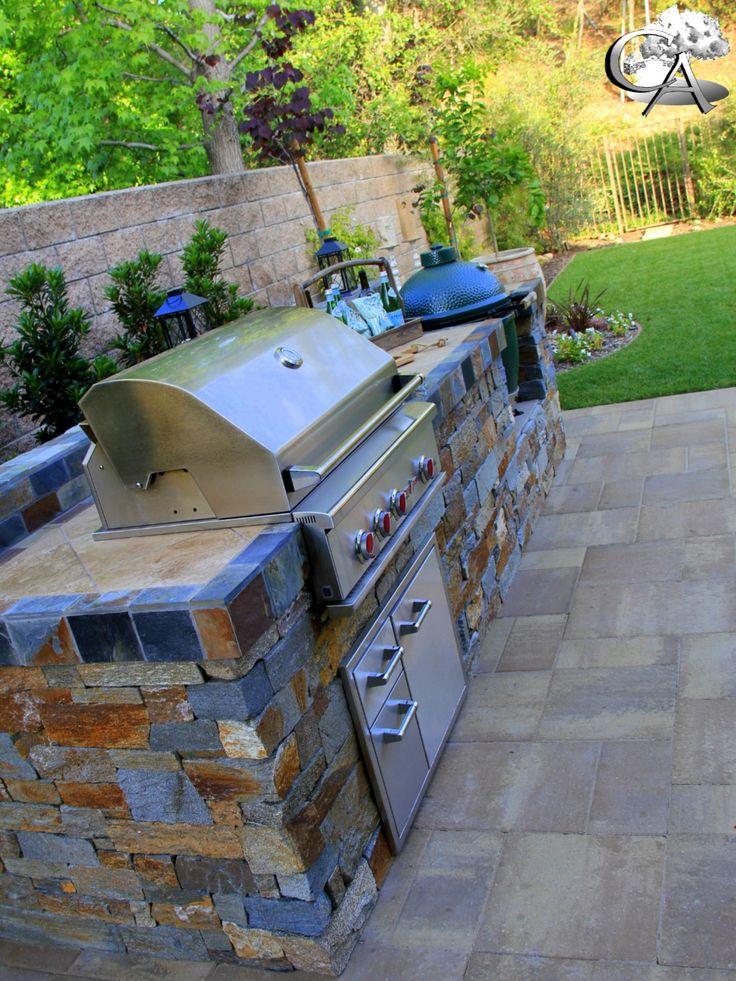 Outdoor Kitchen, Custom BBQ, Sydney Peak, Belgard Pavers