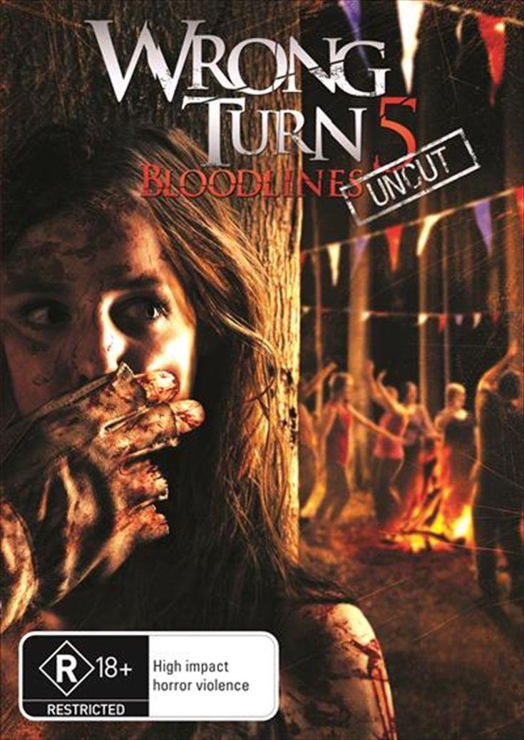 Wrong Turn 5: Bloodlines (2012) English 350MB BluRay 480p ESubs Download