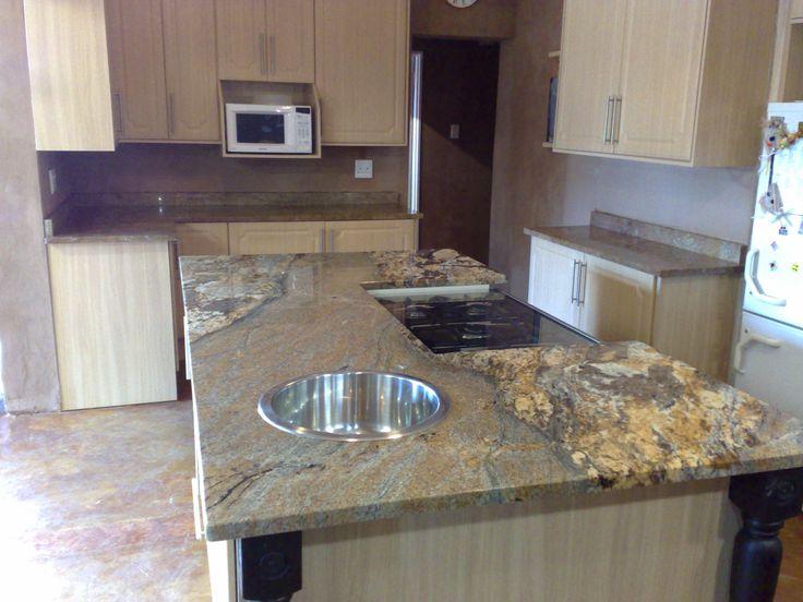 Granite top installation
