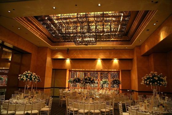 Hyatt Regency Johannesburg is an edgy city wedding venue in Rosebank