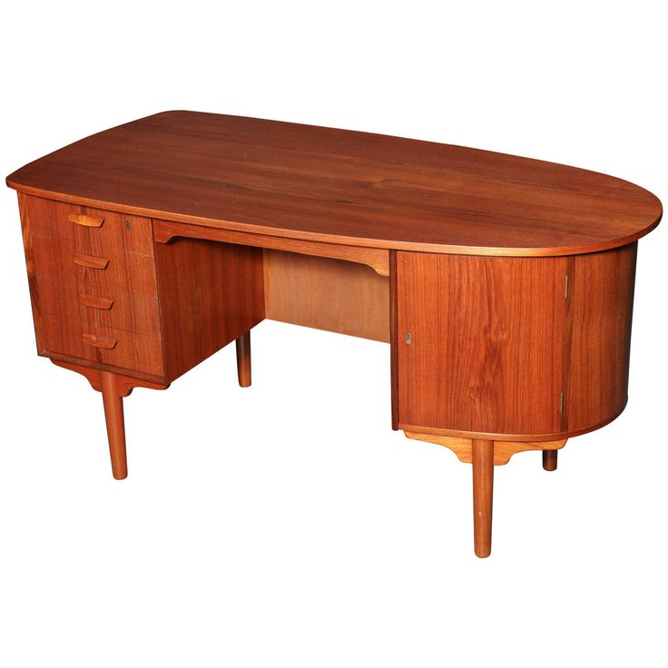 rustic shape teak wood computer desk. View This Item And Discover Similar Desks For Sale At - Danish Modern Bullet-shaped Teak Desk With 4 Drawers Lockable Cabinet. Rustic Shape Wood Computer