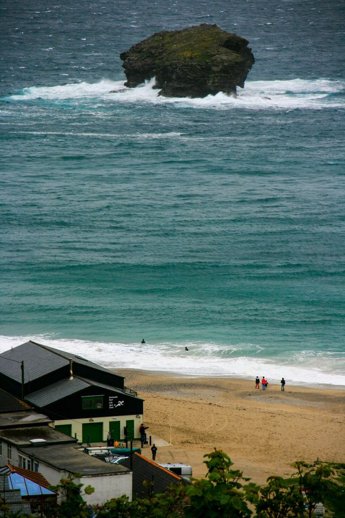 Gull Rock - Portreath, Cornwall, England