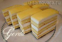 У Самовара — Украшение тортов, кулинария, рецепты блюд, здоровая пища. » Лимонные Пирожные