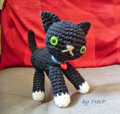 5 patrones de amigurumi gratuitos de gatos