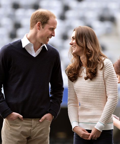Prince William and Kate Middleton's Cutest Moments - April 13, 2014 from #InStyle