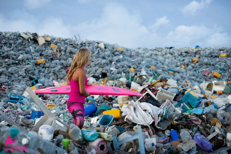 This Creepy Island Is Made Entirely Of Trash The World Thought It Threw Away