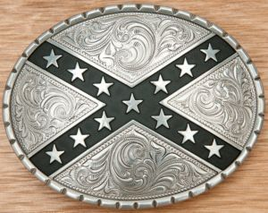 Nocona® Silver Oval Rebel Belt Buckle 37922 | Cavender's $20