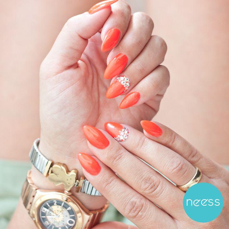 Najlpesze stylizacje lakierami hybrydowymi NEESS. Najpiękniejsze styllizacje. The best nails