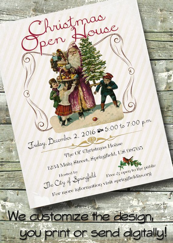 22 best Holiday Flyers images on Pinterest Flyers, Leaflets and - free open house flyers