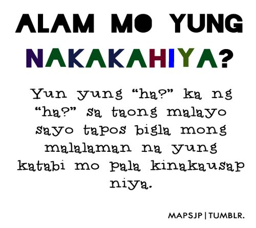 Comedy Quotes Tagalog Version: 44 Best TAWA Images On Pinterest