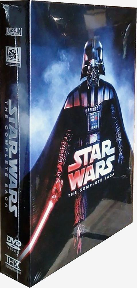 Star Wars: The Complete Saga  (I,II,III,IV, V, VI, 12-Disc Box Set) DVD FORMAT!! | DVDs & Movies, DVDs & Blu-ray Discs | eBay!