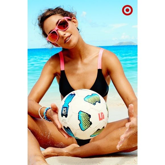 New Target Bikini Top Top Only Xhilaration Swim Bikinis