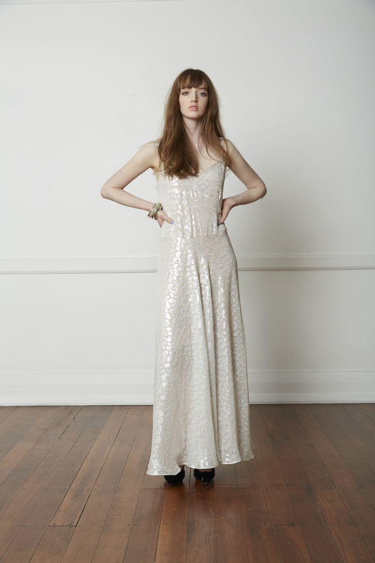 Carlson Flamboyant Dress - Silver