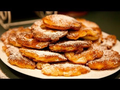 Apple Pancakes - Racuchy z Jablkami - Ania's Polish Food Recipe #5