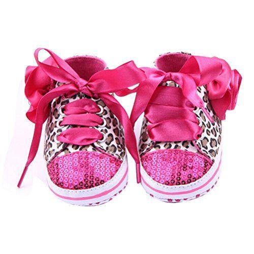 LEORX Paar Von Niedlichen Baby Mädchen Leopard Muster Dekor Prewalkers Schuhe (Rosarot) - http://on-line-kaufen.de/leorx/leorx-paar-von-niedlichen-baby-maedchen-leopard-2