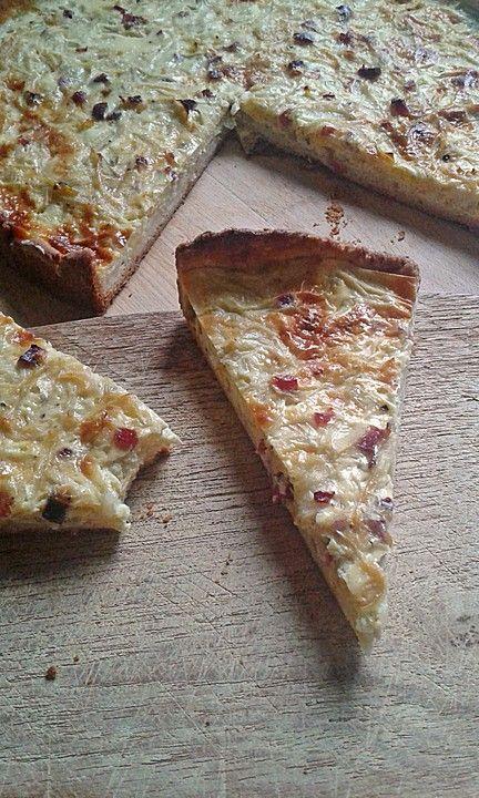 Badischer Zwiebelkuchen, ein beliebtes Rezept aus der Kategorie Tarte/Quiche. Bewertungen: 33. Durchschnitt: Ø 4,3.