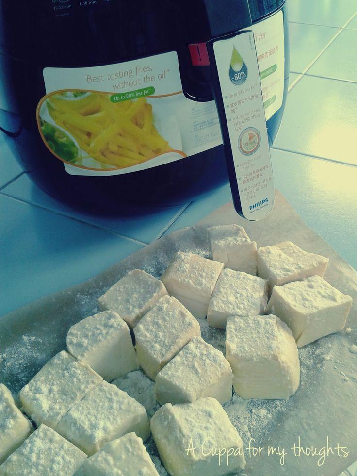 Airfryer Tofu