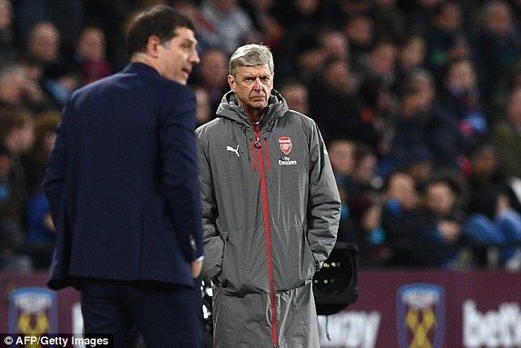 West Ham 1-5 Arsenal RESULT and Premier League table | Daily Mail Online