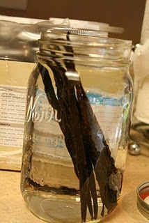 Home made vanilla! What a delicious gift idea