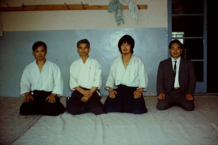 Aikido summer school london 1971 chiba sensei, sekiya sensei, kinetseka sensei, shiatsu master(name not known)