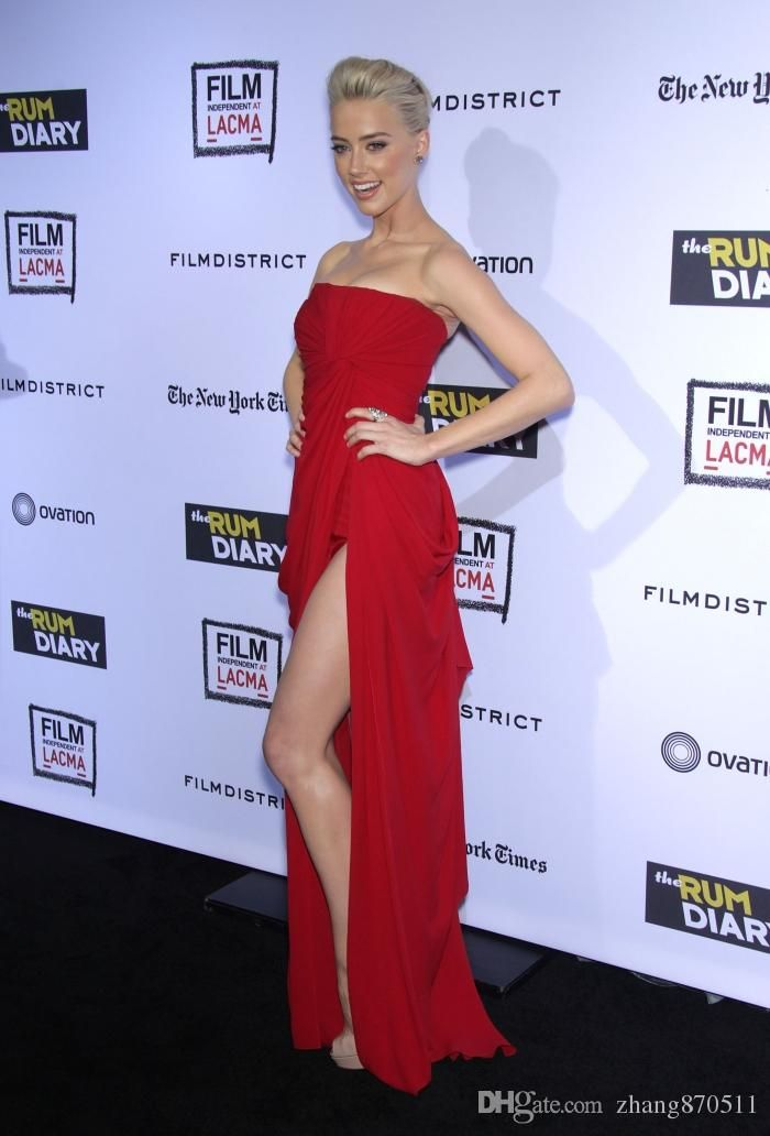 Show your best to all people even in the evening and then get amber heard at the rum diary premiere red carpet dresses sexy long leg-friendly strapless red chiffon dress by elie saab celebrity dresses in zhang870511 and choose wholesale evening dresses cheap,evening dresses sydney and evening maxi dresses uk on DHgate.com.