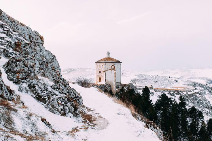 ✅ Santa Maria della Pietà (Rocca Calascio)