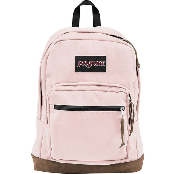"JanSport Right Pack Laptop Backpack - 15"" - Pink Blush - Laptop... ($65) ❤ liked on Polyvore featuring bags, backpacks, pink, jansport rucksack, backpack bags, pink backpack, jansport and laptop backpack"