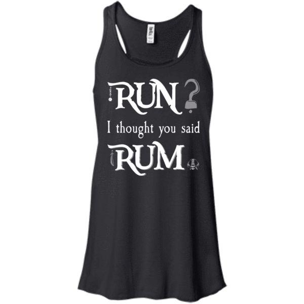 Run? I Thought You Said Rum