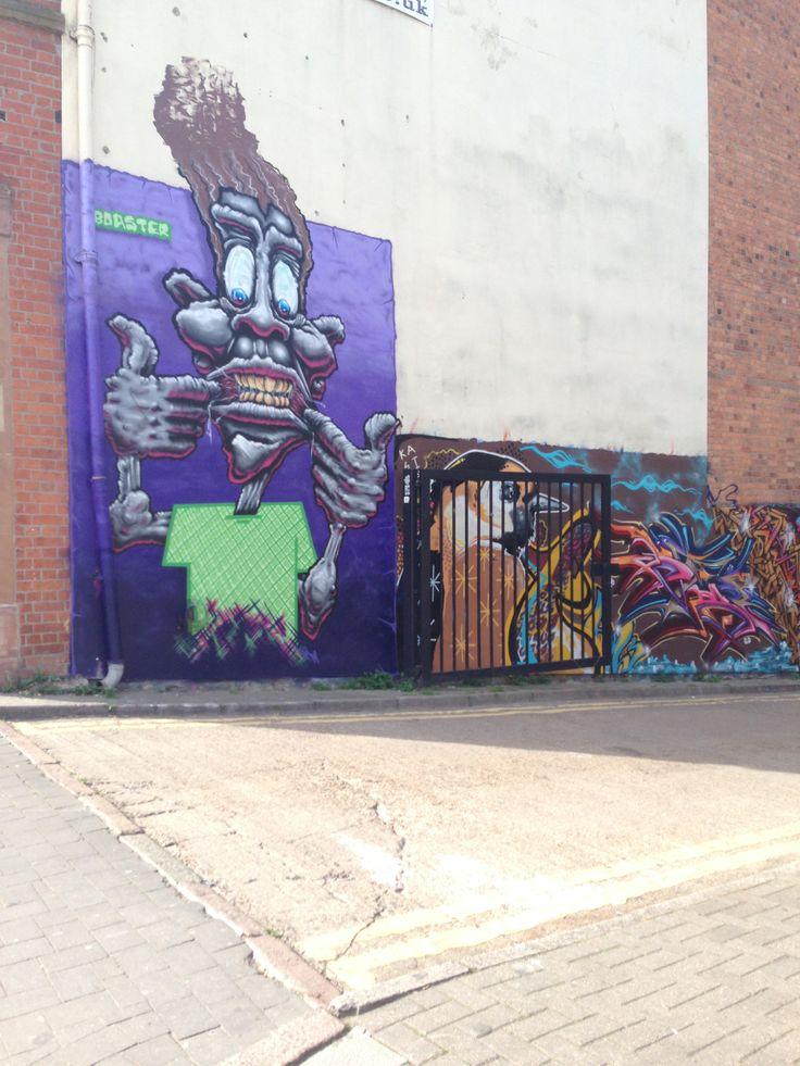 Purple Graffiti