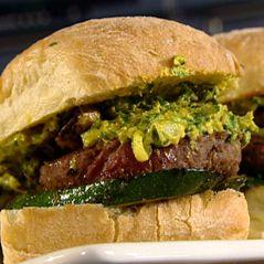 Recepten - Hamburger met gegrilde groenten en salsa Belgica