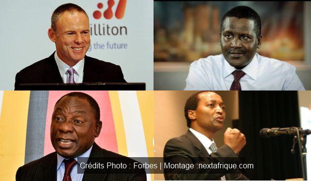 Les 50 Africains les plus riches sont, dans l'ensemble, plus riches qu'il y a un an. Leur fortune nette cumulée s'élève à 110.7 milliards de dollars, en hausse de 6,7% qu'en Novembre 2013, selon la nouvelle liste Forbes.