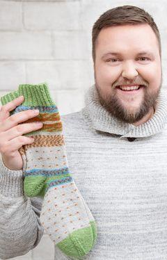 Größentabellen für Socken mit Bumerangferse