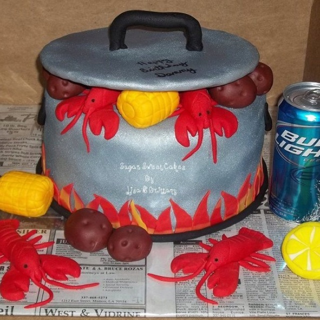 Salmon Birthday Cake: 14 Best Images About Crawfish Boil Ideas On Pinterest