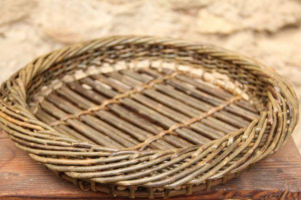 Basket Weaving Essay : Corbeille alla jenny crisp cistelleria