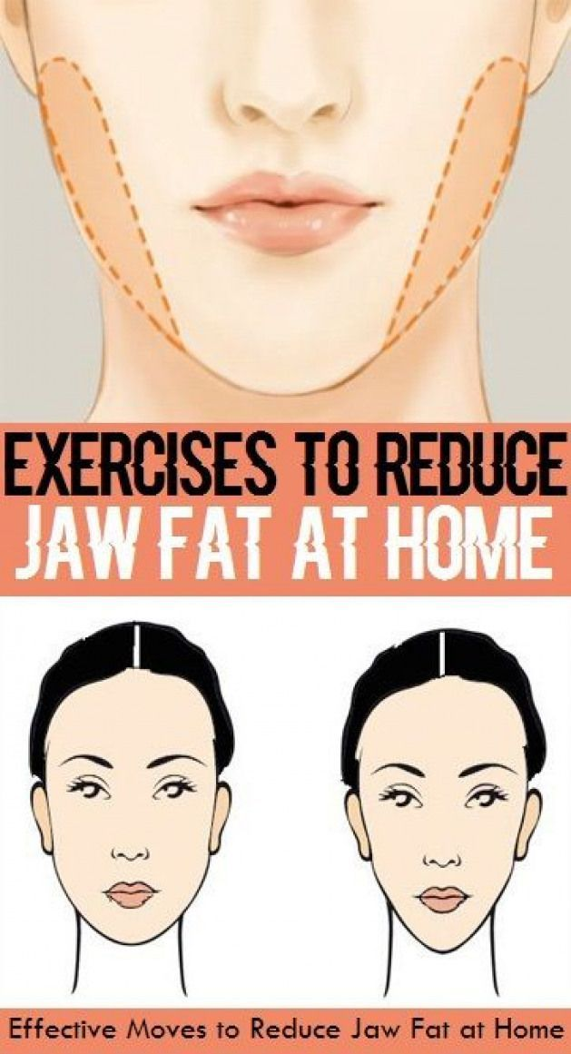how to lose fat cheeks