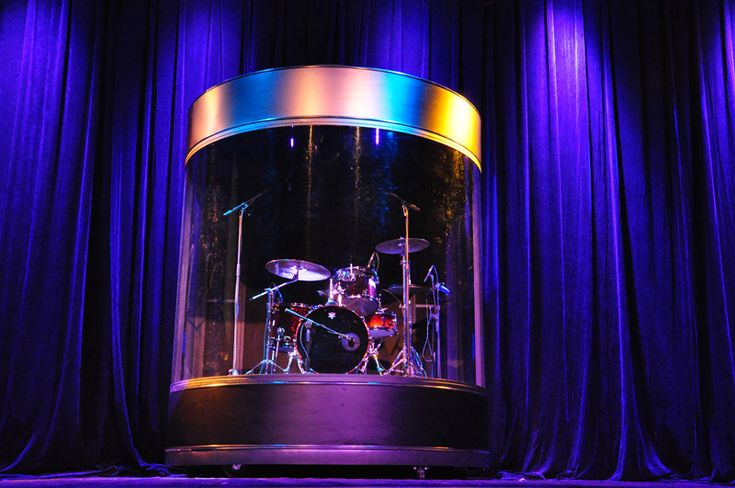 More Winning Drum Shield Drummers Behind Glassdrummers