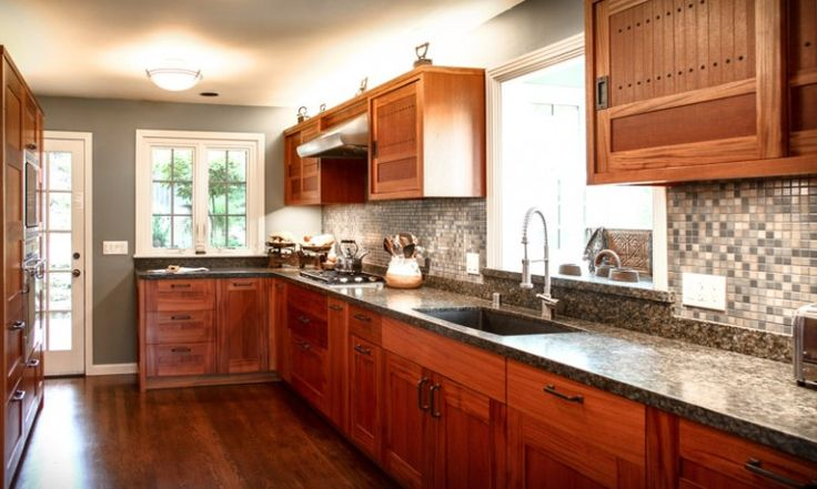 104 Best Images About Mahogany Or Teak Kitchen Cabinets On