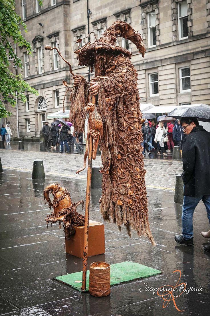Wizard, Harry Potter, Edinburgh , streeft art, Scotland