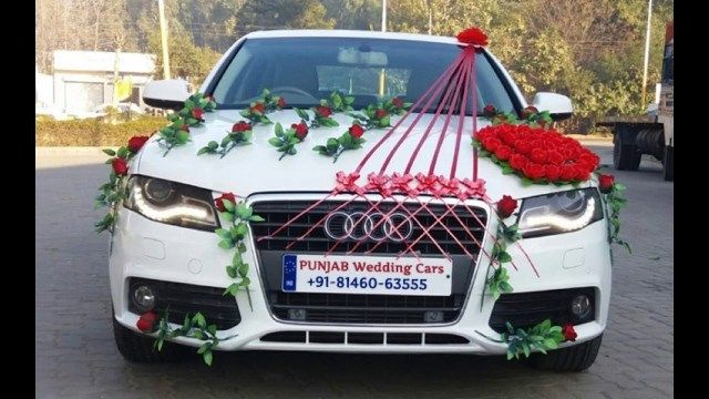 Best Photo Of Wedding Car Decorations