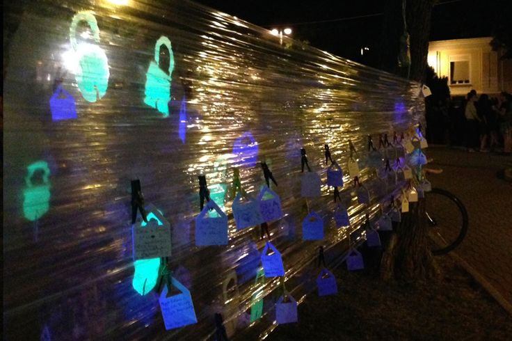 Cellograf project, Gyikviz Klaszter, Installation