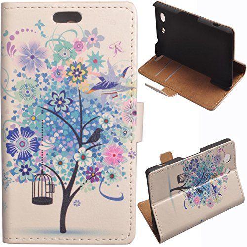 Voguecase® Sony Xperia Z3 Compact Elegante borsa in pelle Custodia Case Cover Protezione chiusura ventosa (albero blu) Con Stilo Penna Voguecase http://www.amazon.it/dp/B00O9VLFAU/ref=cm_sw_r_pi_dp_7p0Lub1PK57NH